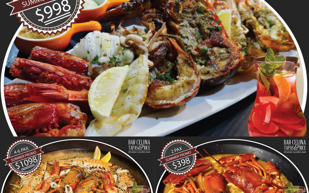 Summer Fresh Seafood Promo!